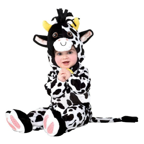 Babies Mini Moo Infant Costume Fancy Dress Outfit
